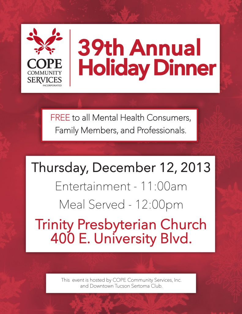 39th Annual Holiday Dinner