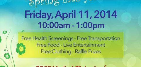 "2014 COPE Health Fair – ""Spring into Health"""