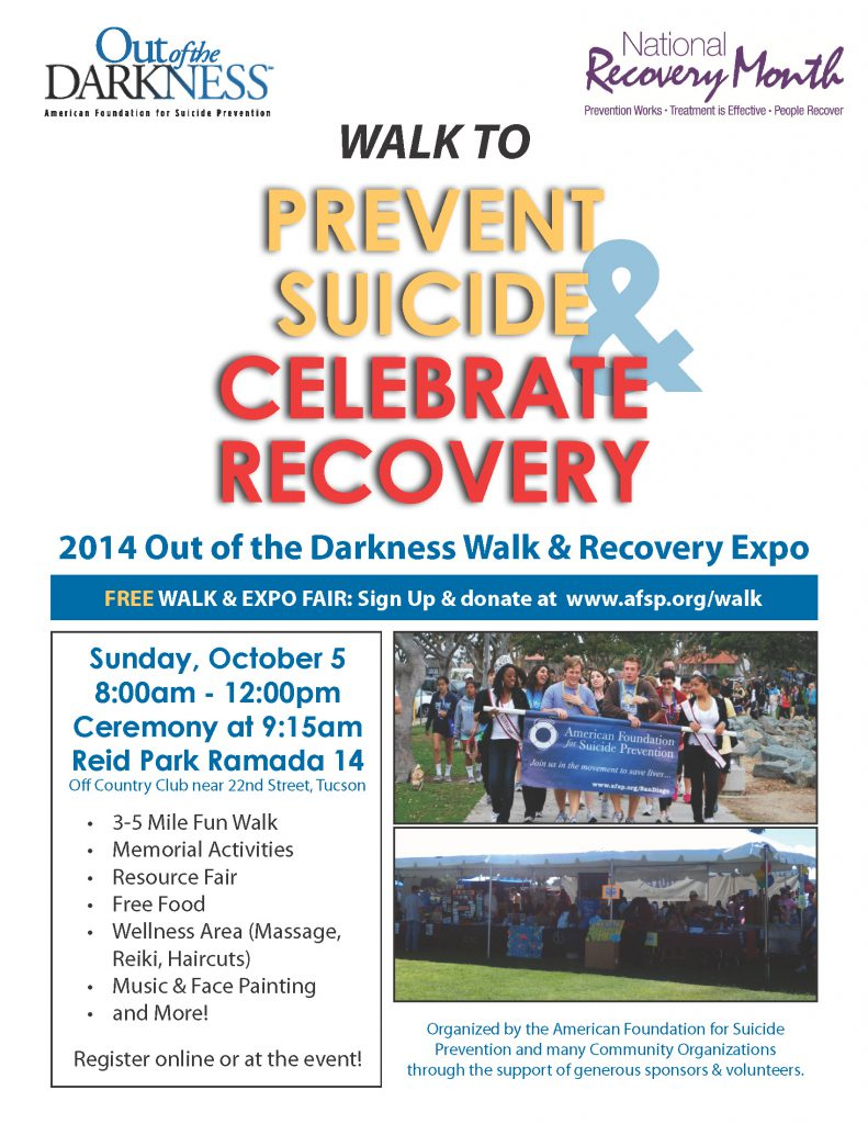 OOD Walk & Recovery Expo Flier 8.5x11