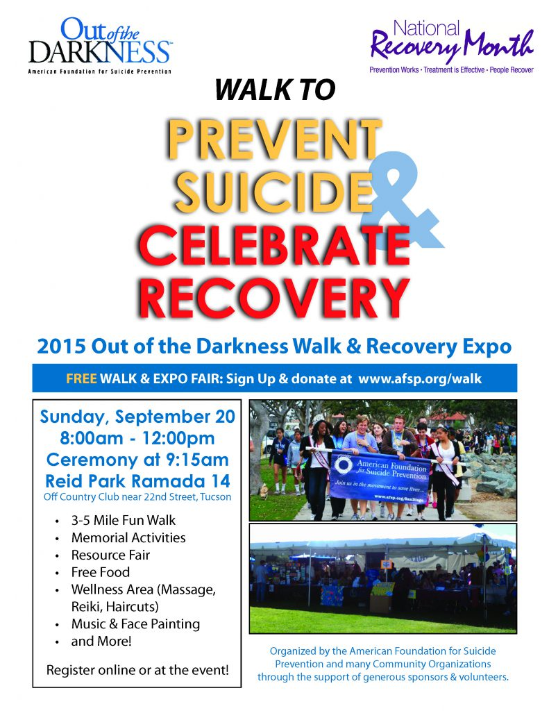 OOD Walk & Recovery Expo Flier